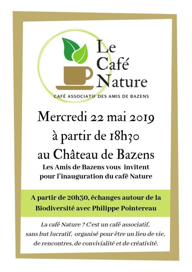 INAUGURATION le café nature